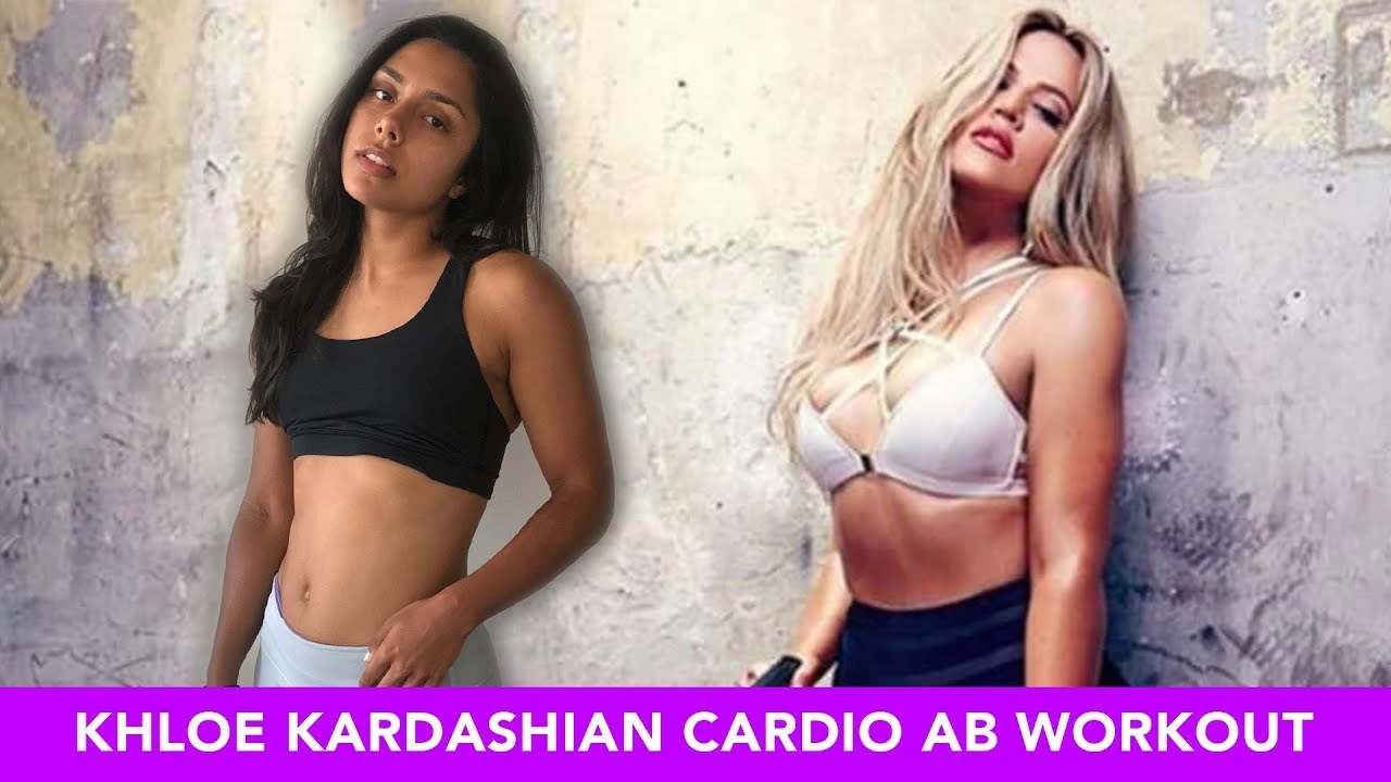Trying Khloé Kardashian's Cardio Ab Workout