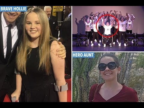 Teenage Manchester bomb victim Hollie Booth performs Ariana Grande hit for Britain's Got
