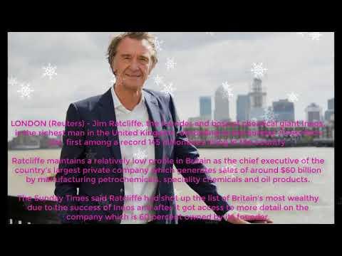 Chemicals Boss Ratcliffe Tops Sunday Times Rich List - HD News