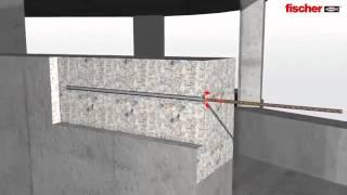 Крепление арматуры в бетоне с Fischer FIS EM & FIS V(Крепление арматуры в бетоне с помощью химических анкеров Fischer FIS EM и Fischer FIS V. Надежное и долговечное креплен..., 2013-10-25T06:14:52.000Z)