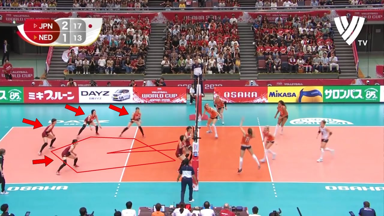 This is Why Volleyball Team Japan Have the Best Defense in the World (HD)