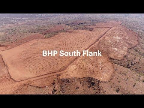 BHP South Flank First Blast
