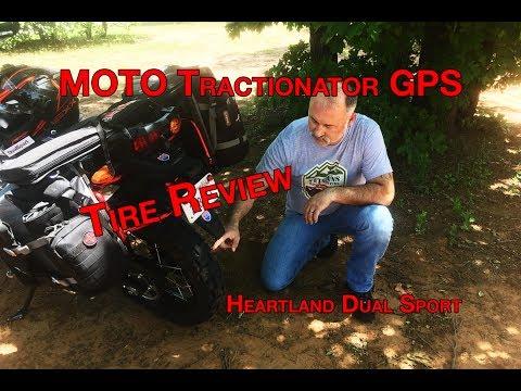 Motoz GPS Tire Review, Honda Africa Twin