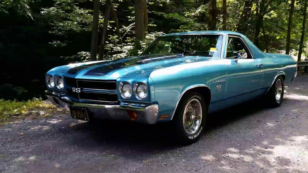 My 1970 Chevrolet El Camino SS - Horsepower!! - YouTube