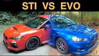 Subaru WRX STI vs Mitsubishi EVO X - Which AWD Sedan Is Best?