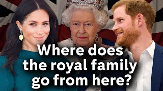 What next for the royal family after Harry and Meghan split?