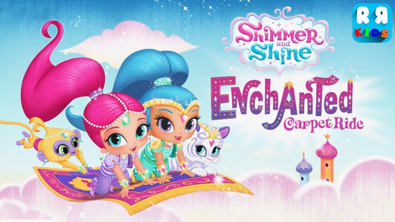 Shimmer and Shine: Enchanted Carpet Ride Game - Best App for Kids   iPad  Gameplay