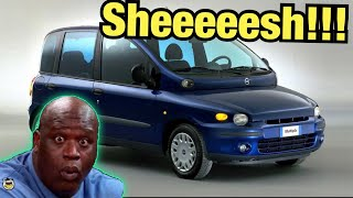 These Cars Will Make You Go Blind!!! - Ugliest Production Cars