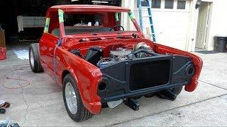 1967 Chevrolet C10 Small Window Stepside Pickup Truck Build Project