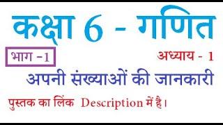 Class 6 Maths Chapter 1 (Part 1) Hindi Medium