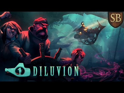 Let's Try - DILUVION Gameplay: Underwater Submarine Adventures