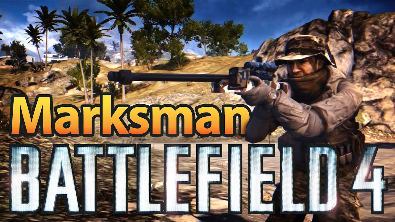 how to get marksman ribbons in bf4