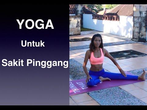 Yoga untuk Pinggang, Pinggul - YouTube