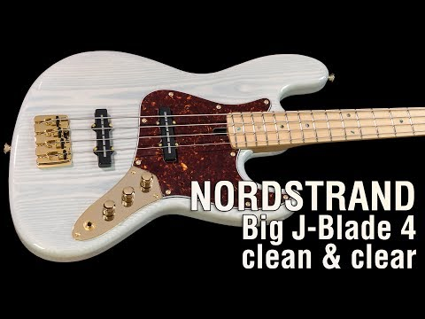 Nordstrand Big J-Blade 4 clean & clear // Maruszczyk Elwood 4p