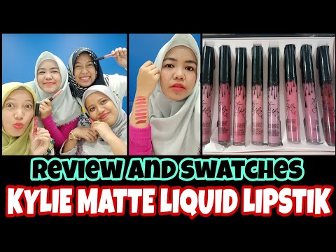 review-jujur-kylie-matte-liquid-lipstik-kw-and-swatches