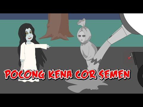 Truk Molen#Pocong Di Cor#Pocong Sial#Horor Lucu Episode 17