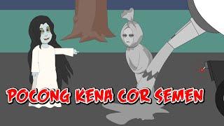 Truk Molen#Pocong Di Cor#Pocong Sial#De Dibujos Animados Divertidos#Horror Cosa Para El Episodio 17