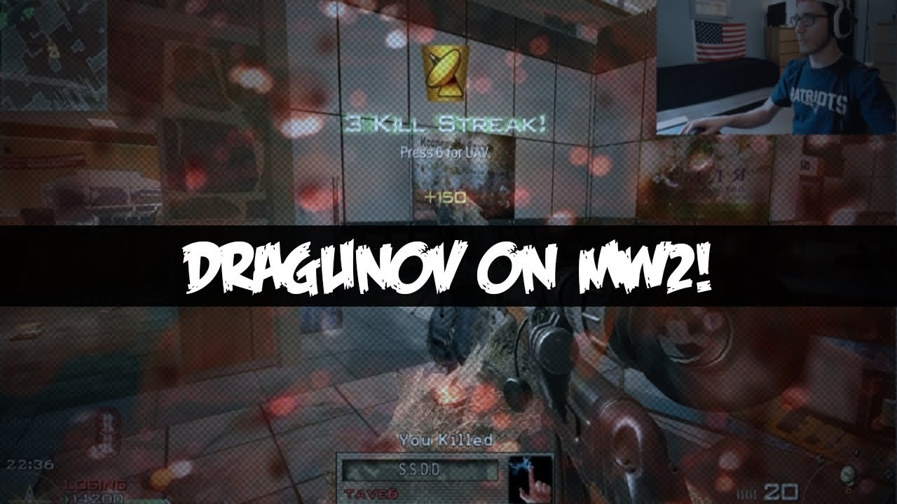 Dragunov on MW2! (IW4X)