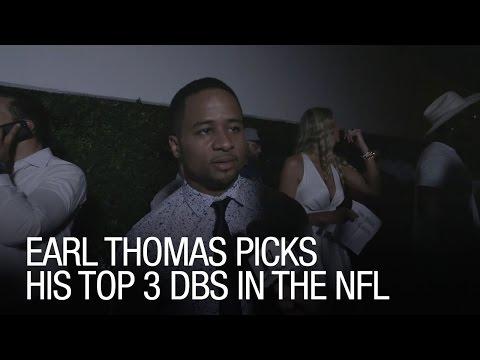 Earl Thomas Picks His Top 3 DBs in the NFL