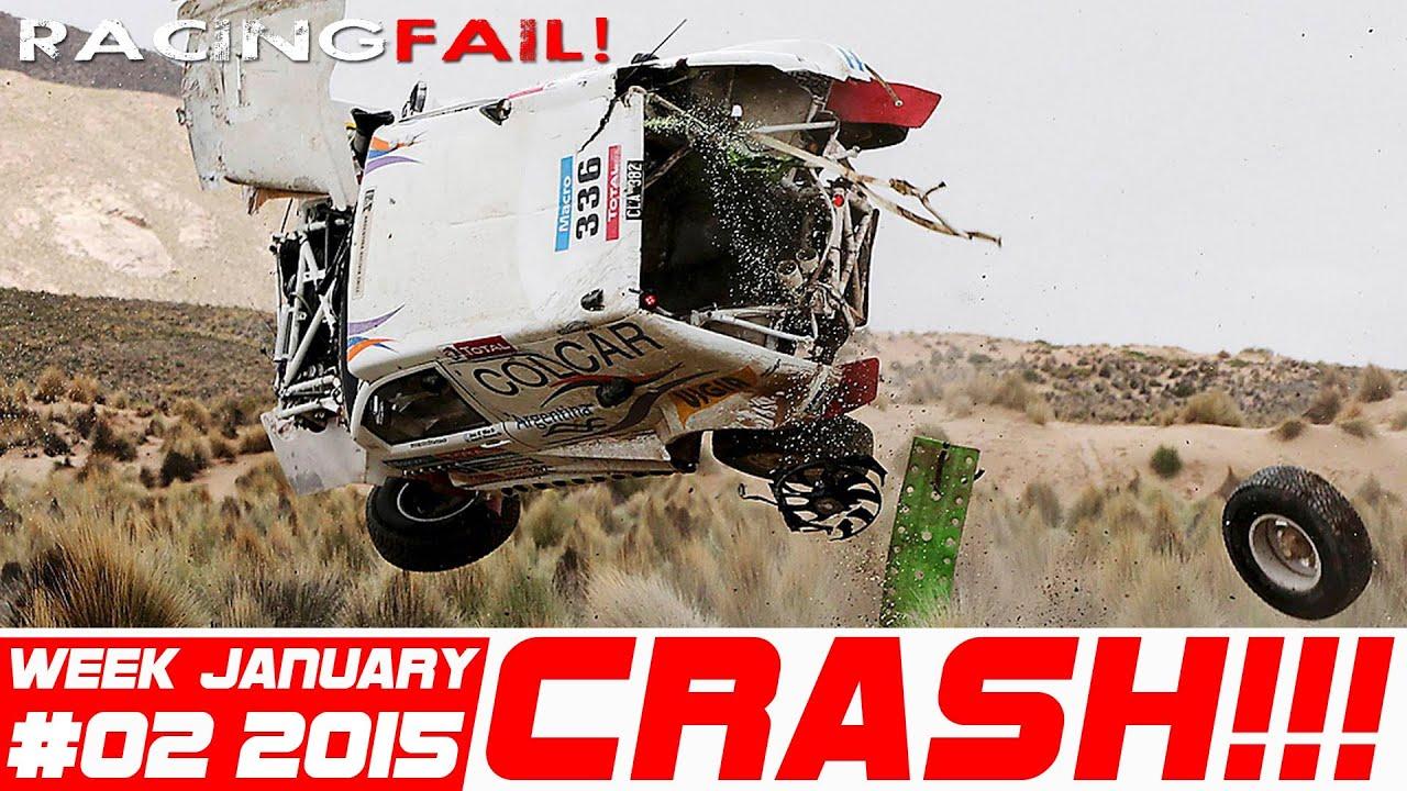 Dakar Special Racing And Rally Crash Compilation Week 2 January 2015