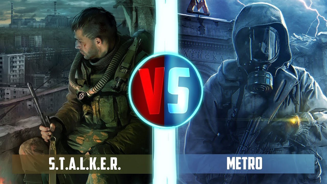 Рэп Баттл — S.T.A.L.K.E.R. VS METRO