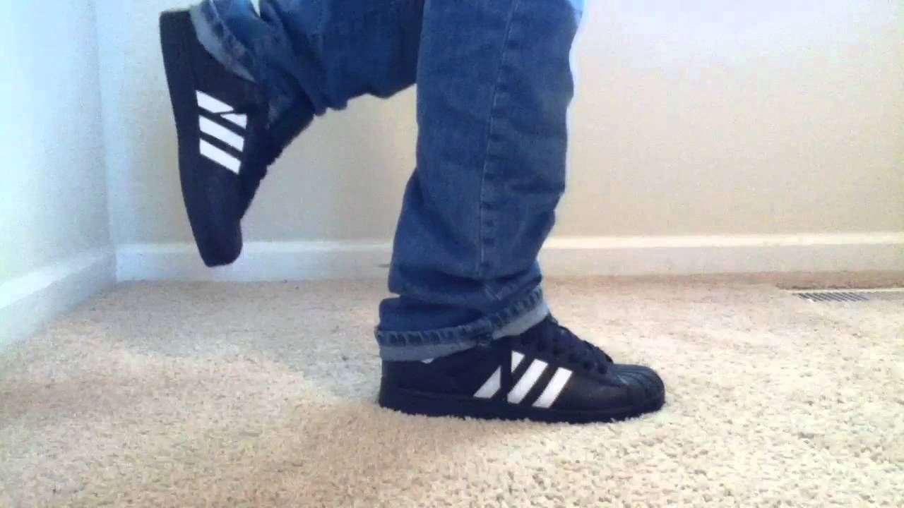 Adidas superstar 2 white on foot review