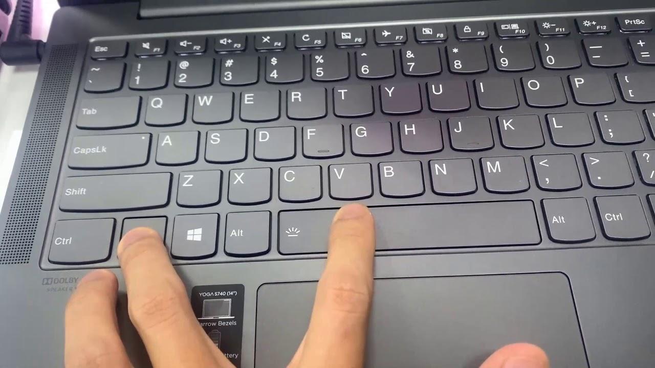 Video Ein Und Ausschalten Des Lenovo Yoga Keyboard Light