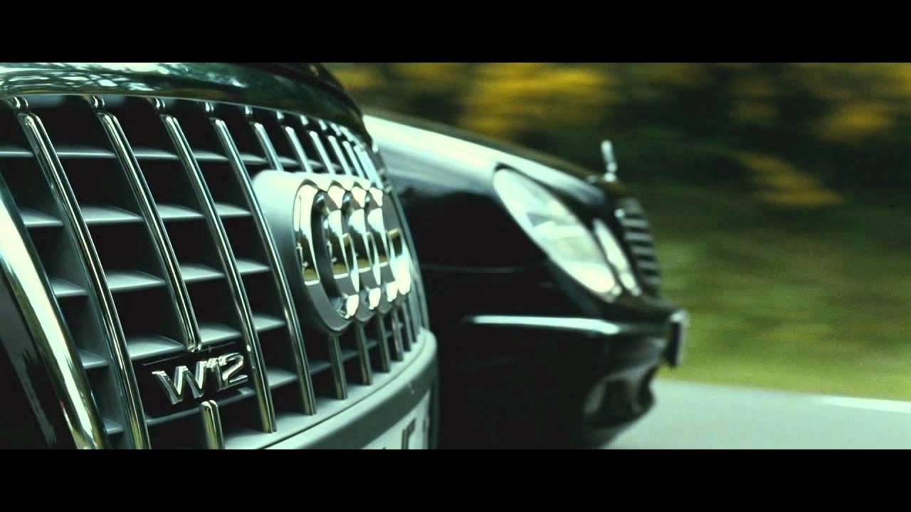 TRANSPORTER 3 - Audi A8 vs. Mercedes E-class [HD] - YouTube