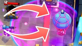 Clash Royale - BALLOON RAGE! Insane Cycle Deck
