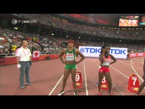 Shelly-Ann FRASER-PRYCE wins 100m Final - 10.76 Beijing World Championships 2015