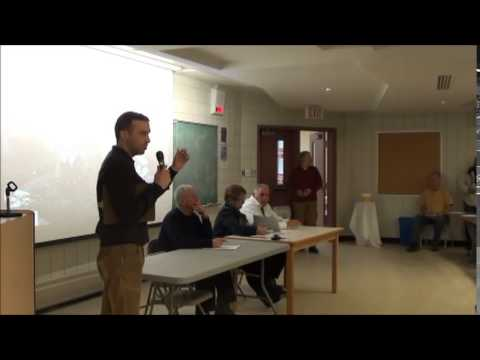 Public Forum on The Gulf of St. Lawrence, Oil and Fracking
