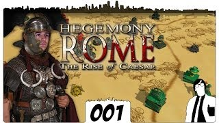 Hegemony Rome #001 - Das ist Rome | The Rise of Caesar German Gameplay