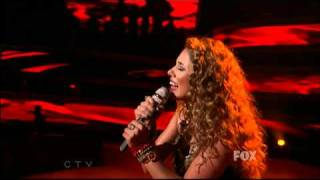 Haley Reinhart - The House of the Rising Sun (2nd Song) - Top 5 - American Idol 2011