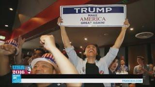 صور طريفة من الانتخابات الأمريكية