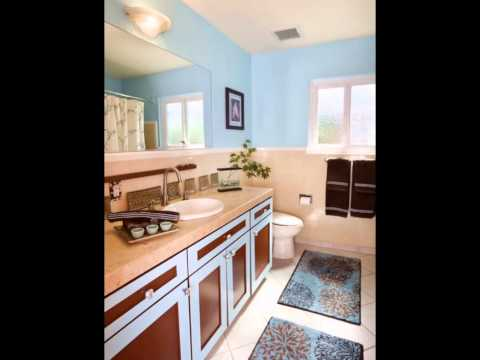 Complementary Analogous Color Scheme Interior Design With