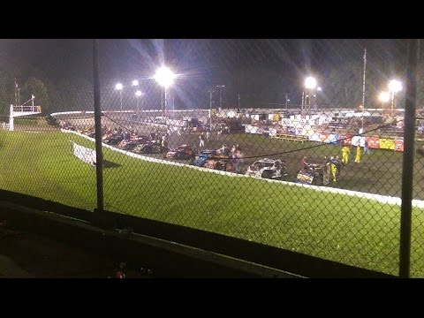Imca Modified feature 7/30/16 Hamilton Co speedway
