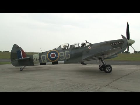 WWII Luftwaffe Ace Takes To The Skies In A Spitfire