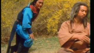 Old Beggar Uses His Fat Belly To Defeat Thugs - Funny Kung Fu Movie Fight Scene
