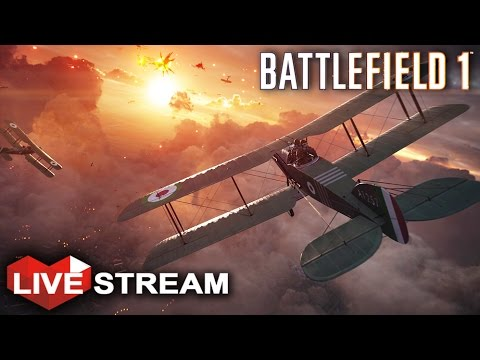 Battlefield 1: Large Scale War Gameplay with Vehicles  | Livestream  + BF1 GIVEAWAY