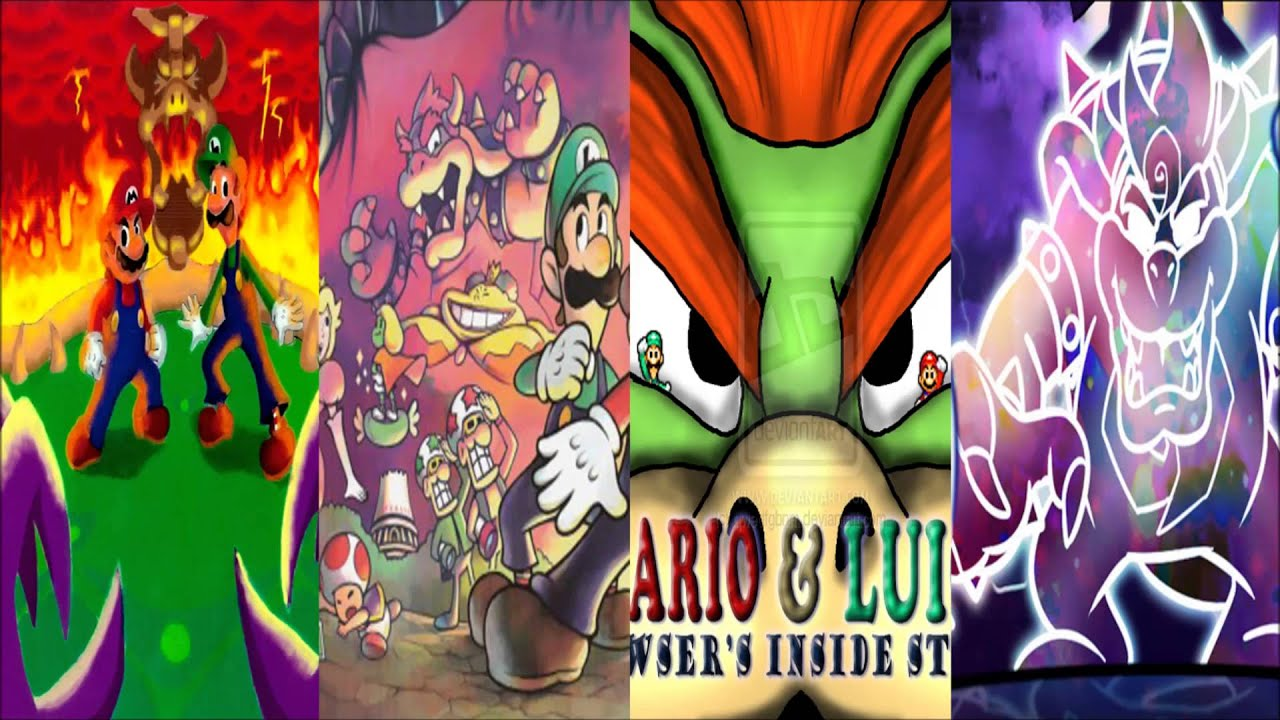 mario and luigi partners in time wallpaper