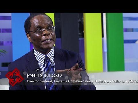 TCRA Director General John Nkoma on Tanzania's telecoms & ICT sectors