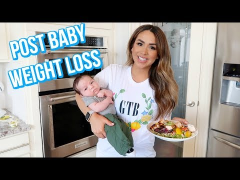 How i lost weight after birth