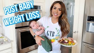 HOW I'M LOSING THE BABY WEIGHT   ALEX GARZA