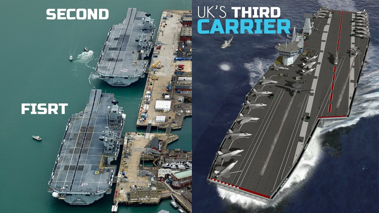Will the UK build a third aircraft carrier?