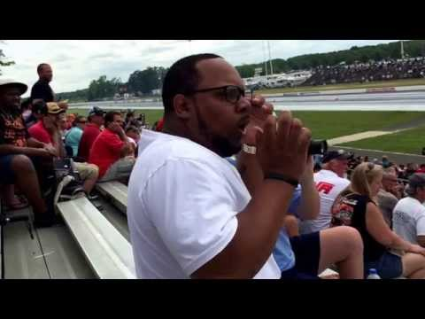 NHRA First Time !!! Very funny a must watch..Best Reaction to Top fuel