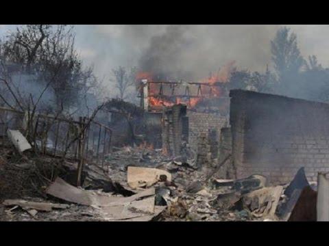 Донбасс снова в огне...