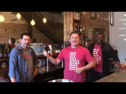 Tim and Fritsch visit Revel Urban Winery in OTR