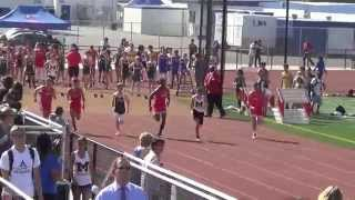 FSB 100m vs Marina & Edison 4-2-15 - Los Alamitos  Boys