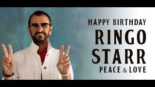 Ringo Starr - 80th Birthday Tribute - 7 July 1940 !