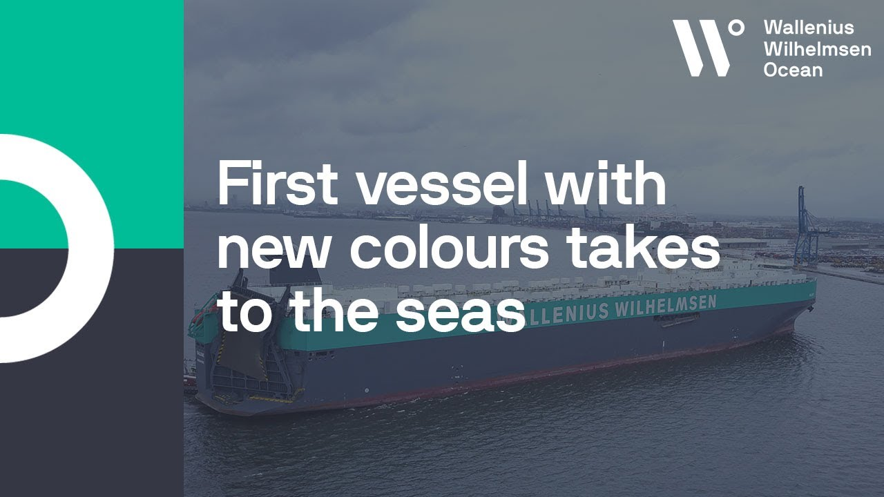 RoRo vessel Salome takes to the seas after green and grey
